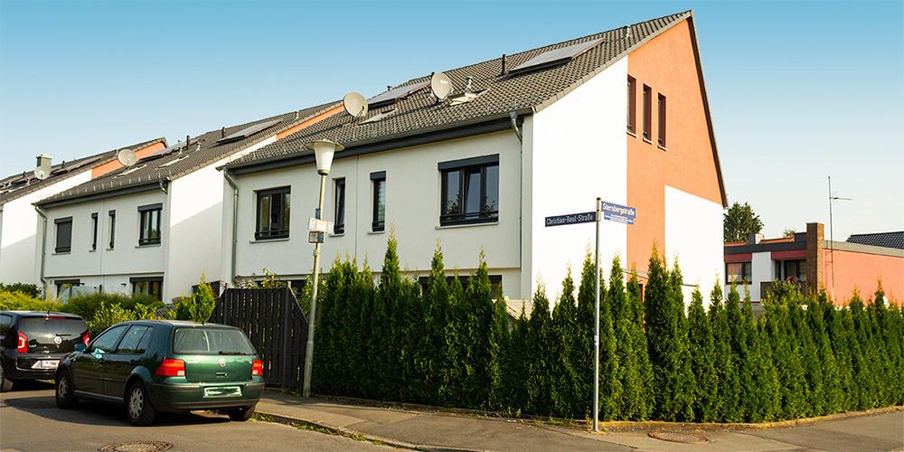 Reihenhäuser u. Doppelhaushälfte Kassel – Wehlheiden